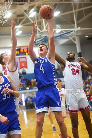 2-8-20<br /> Basketball Day-Kokomo vs Tipton<br /> Tipton's Noah Wolfe puts up a shot.<br /> Kelly Lafferty Gerber | Kokomo Tribune