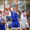 2-8-20<br /> Basketball Day-Kokomo vs Tipton<br /> Tipton's Noah Wolfe puts up a shot.<br /> Kelly Lafferty Gerber | Kokomo Tribune
