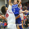 2-8-20<br /> Basketball Day-Kokomo vs Tipton<br /> Tipton's Sam Edwards puts up a shot.<br /> Kelly Lafferty Gerber | Kokomo Tribune