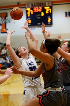 2-5-21<br /> Northwestern girls loose to Harrison in Friday evenings sectional basketball match up in West Lafayette.<br /> Tim Bath | Kokomo Tribune