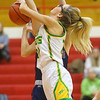 2-5-20<br /> Eastern vs Bellmont girls sectional basketball<br /> Eastern's Lexi James puts up a shot.<br /> Kelly Lafferty Gerber | Kokomo Tribune