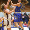 2-4-20<br /> Tri-Central vs Wes-Del girls basketball sectional<br /> TC's Allie Younce puts up a shot.<br /> Kelly Lafferty Gerber | Kokomo Tribune
