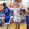 2-8-20<br /> Basketball Day-Kokomo vs Tipton<br /> Kokomo's Bobby Wonnell puts up a shot.<br /> Kelly Lafferty Gerber | Kokomo Tribune