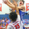 2-8-20<br /> Basketball Day-Kokomo vs Tipton<br /> Tipton's Sam Ridgeway puts up a shot.<br /> Kelly Lafferty Gerber | Kokomo Tribune