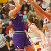 2-8-20<br /> Northwestern vs McCutcheon girls basketball sectional championship <br /> Kendall Bostic puts up a shot.<br /> Kelly Lafferty Gerber | Kokomo Tribune