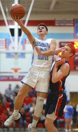 1-31-20<br /> Maconaquah vs Cass boys basketball<br /> Mac's Feenix Kile shoots.<br /> Kelly Lafferty Gerber   Kokomo Tribune