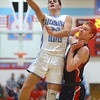 1-31-20<br /> Maconaquah vs Cass boys basketball<br /> Mac's Feenix Kile shoots.<br /> Kelly Lafferty Gerber | Kokomo Tribune