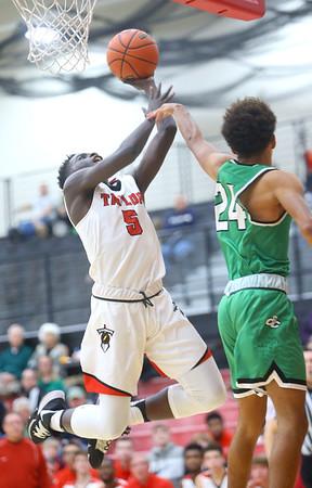 1-17-20<br /> Taylor vs CC boys basketball<br /> Taylor's Toric Spires shoots.<br /> Kelly Lafferty Gerber   Kokomo Tribune