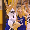 1-16-20<br /> Western vs Carroll girls basketball<br /> Western's Audrey Rassel puts up a shot.<br /> Kelly Lafferty Gerber | Kokomo Tribune