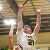 1-7-20<br /> Eastern vs Maconaquah boys basketball<br /> Eastern's Ethan Wilcox puts up a shot.<br /> Kelly Lafferty Gerber   Kokomo Tribune