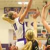 1-24-20<br /> Northwestern vs Benton Central girls basketball Hoosier conference<br /> NW's McKenna Layden goes up for a rebound.<br /> Kelly Lafferty Gerber | Kokomo Tribune