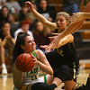 1-30-20<br /> Eastern vs Peru girls basketball<br /> Eastern's Kara Otto looks for a pass after grappling for control of the ball.<br /> Kelly Lafferty Gerber | Kokomo Tribune