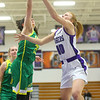 1-8-20<br /> Northwestern vs Eastern girls basketball<br /> NW's Klair Merrell puts up a shot.<br /> Kelly Lafferty Gerber | Kokomo Tribune