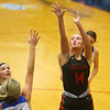 1-10-20<br /> Kokomo vs Logansport girls basketball<br /> Logansport's Justine Brown shoots.<br /> Kelly Lafferty Gerber | Kokomo Tribune