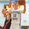 1-31-20<br /> Maconaquah vs Cass boys basketball<br /> Mac's Cole Borden shoots.<br /> Kelly Lafferty Gerber | Kokomo Tribune