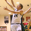 1-25-20<br /> Western vs Eastern boys basketball<br /> Western's Evan Kretz puts up a shot.<br /> Kelly Lafferty Gerber | Kokomo Tribune