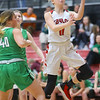 1-17-20<br /> Taylor vs CC girls basketball<br /> Taylor's Emma Good puts up a shot.<br /> Kelly Lafferty Gerber | Kokomo Tribune