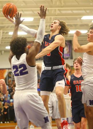 1-24-20<br /> Northwestern vs Cass boys basketball<br /> Cass' Easton Good shoots.<br /> Kelly Lafferty Gerber | Kokomo Tribune