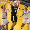 1-10-20<br /> Kokomo vs Logansport girls basketball<br /> Logansport's Noah Lange shoots.<br /> Kelly Lafferty Gerber | Kokomo Tribune