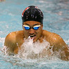 1-28-20<br /> Northwestern vs Western swimming<br /> Western's Palmer Harrell in the boys 200 yard medley relay.<br /> Kelly Lafferty Gerber | Kokomo Tribune