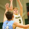 1-7-20<br /> Eastern vs Maconaquah boys basketball<br /> Eastern's Levi Mavrick puts up a shot.<br /> Kelly Lafferty Gerber   Kokomo Tribune
