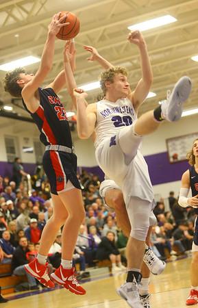1-24-20<br /> Northwestern vs Cass boys basketball<br /> <br /> Kelly Lafferty Gerber | Kokomo Tribune
