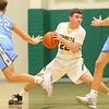 1-7-20<br /> Eastern vs Maconaquah boys basketball<br /> Eastern's Ethan Wilcox looks for a pass.<br /> Kelly Lafferty Gerber   Kokomo Tribune