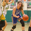 1-14-20<br /> Eastern vs Tipton girls basketball<br /> Tipton's Abigail Parker heads down the court.<br /> Kelly Lafferty Gerber | Kokomo Tribune