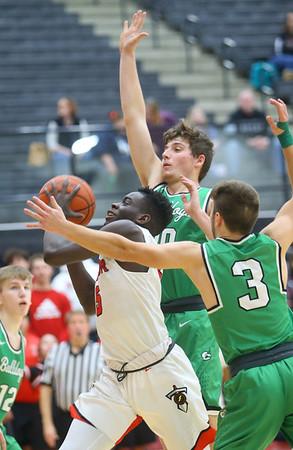 1-17-20<br /> Taylor vs CC boys basketball<br /> <br /> Kelly Lafferty Gerber   Kokomo Tribune