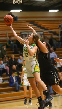1-30-20<br /> Eastern vs Peru girls basketball<br /> Eastern's Brooklynn Smith puts up a shot.<br /> Kelly Lafferty Gerber | Kokomo Tribune