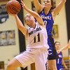1-16-20<br /> Western vs Carroll girls basketball<br /> Western's Karson Lechner shoots.<br /> Kelly Lafferty Gerber | Kokomo Tribune