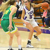 1-8-20<br /> Northwestern vs Eastern girls basketball<br /> NW's Madison Layden works her way down the court.<br /> Kelly Lafferty Gerber | Kokomo Tribune