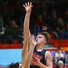 1-31-20<br /> Maconaquah vs Cass boys basketball<br /> Cass' Austin Holt shoots.<br /> Kelly Lafferty Gerber | Kokomo Tribune
