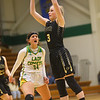 1-30-20<br /> Eastern vs Peru girls basketball<br /> Peru's Carlee Marburger shoots.<br /> Kelly Lafferty Gerber | Kokomo Tribune