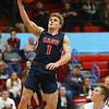 1-31-20<br /> Maconaquah vs Cass boys basketball<br /> Cass' Gabe Eurit puts up a shot.<br /> Kelly Lafferty Gerber | Kokomo Tribune