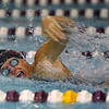 1-28-20<br /> Northwestern vs Western swimming<br /> Western's Delaney Lupoi in the girls 50 yard freestyle.<br /> Kelly Lafferty Gerber | Kokomo Tribune