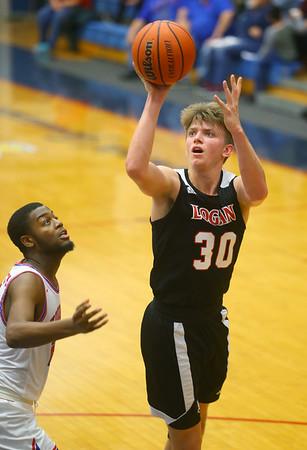 1-10-20<br /> Kokomo vs Logansport girls basketball<br /> Logansport's Evan Hassett puts up a shot.<br /> Kelly Lafferty Gerber | Kokomo Tribune