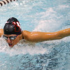 1-28-20<br /> Northwestern vs Western swimming<br /> NW's Delaney Lupoi in the girls 200 yard medley relay.<br /> Kelly Lafferty Gerber | Kokomo Tribune