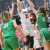 1-17-20<br /> Taylor vs CC girls basketball<br /> Taylor's Kelsi Langley shoots.<br /> Kelly Lafferty Gerber | Kokomo Tribune