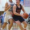 1-31-20<br /> Maconaquah vs Cass boys basketball<br /> Cass' Isaac Chambers looks to the basket.<br /> Kelly Lafferty Gerber | Kokomo Tribune