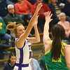 1-8-20<br /> Northwestern vs Eastern girls basketball<br /> NW's Klair Merrell shoots.<br /> Kelly Lafferty Gerber | Kokomo Tribune