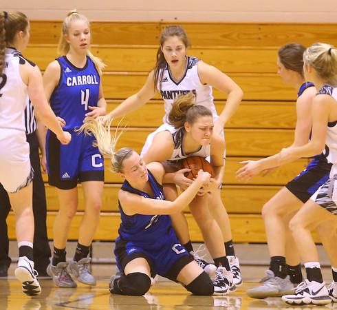 1-16-20<br /> Western vs Carroll girls basketball<br /> <br /> Kelly Lafferty Gerber   Kokomo Tribune