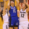 1-16-20<br /> Western vs Carroll girls basketball<br /> Carroll's Kelsey Hammond shoots.<br /> Kelly Lafferty Gerber | Kokomo Tribune