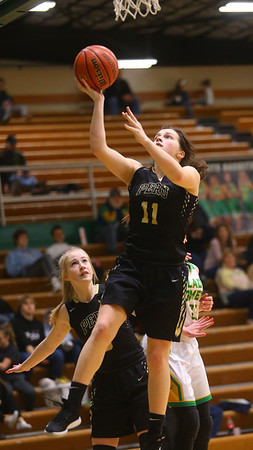 1-30-20<br /> Eastern vs Peru girls basketball<br /> Peru's Courtlynn Crowe puts up a shot.<br /> Kelly Lafferty Gerber | Kokomo Tribune