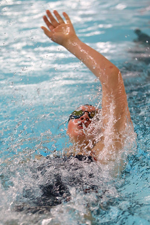 Kokomo's Paige Wilson swimming the 200 yard IM during the swim meet between Kokomo HS and Northwestern HS on Monday December 16, 2019. <br /> Tim Bath | Kokomo Tribune