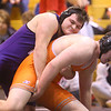 1-18-20<br /> Hoosier Conference wrestling tournament<br /> Northwestern's Julion Creason is defeated by HH's Alex Naylor in the 220.<br /> Kelly Lafferty Gerber | Kokomo Tribun