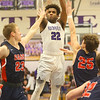 1-24-20<br /> Northwestern vs Cass boys basketball<br /> NW's Tayson Parker shoots.<br /> Kelly Lafferty Gerber | Kokomo Tribune