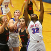 1-10-20<br /> Kokomo vs Logansport girls basketball<br /> Kokomo's Sanighia Balantine shoots.<br /> Kelly Lafferty Gerber | Kokomo Tribune