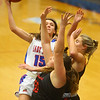 1-10-20<br /> Kokomo vs Logansport girls basketball<br /> Kokomo's Chloe McClain shoots.<br /> Kelly Lafferty Gerber | Kokomo Tribune