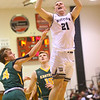 1-25-20<br /> Western vs Eastern boys basketball<br /> Western's Cooper Jarvis shoots.<br /> Kelly Lafferty Gerber | Kokomo Tribune